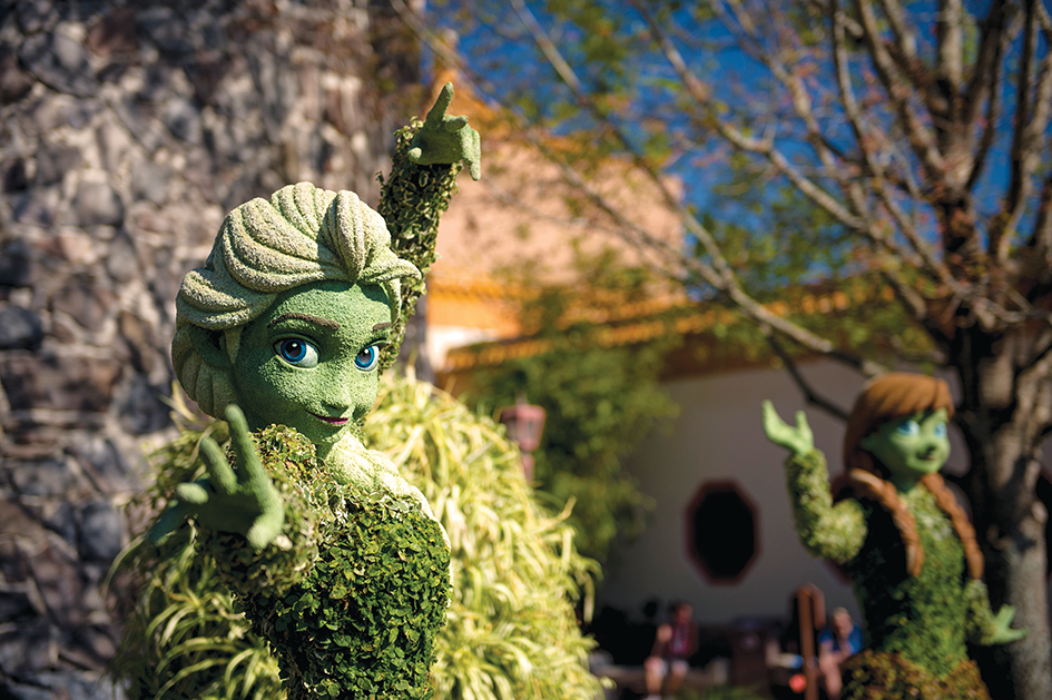 Florida Festivals - Epcot International Flower & Garden Festival