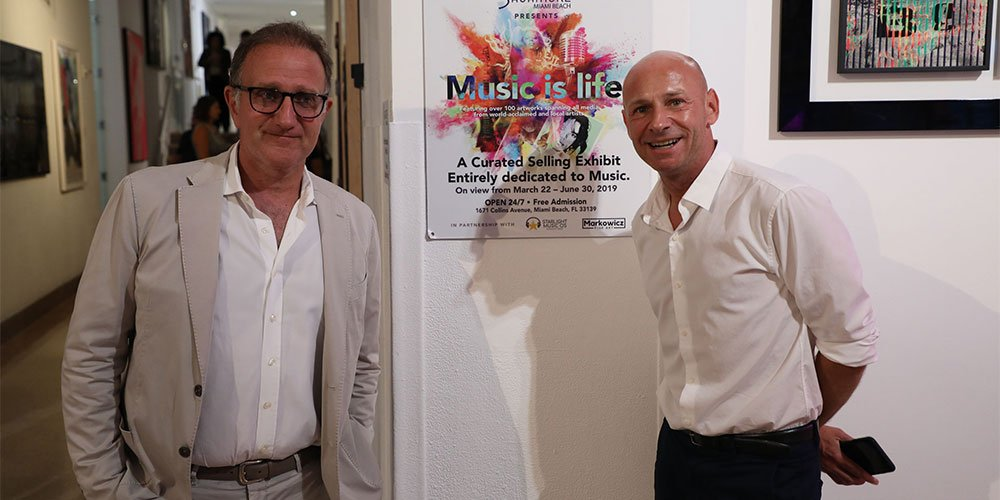 MUSIC IS LIFE: AN ART EXHIBIT ENTIRELY DEDICATED TO MUSIC